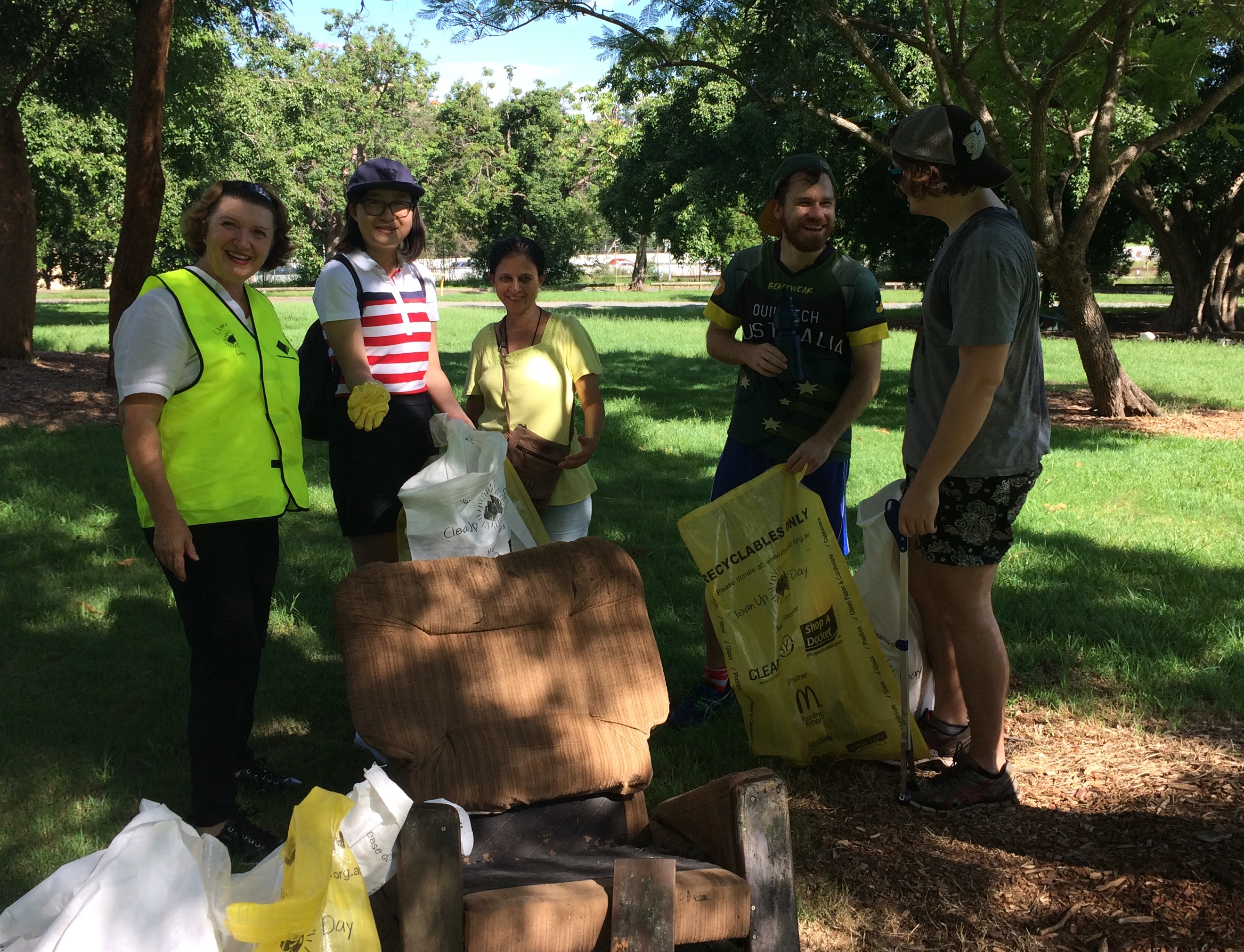 Clean Up Australia Day Spring Hill