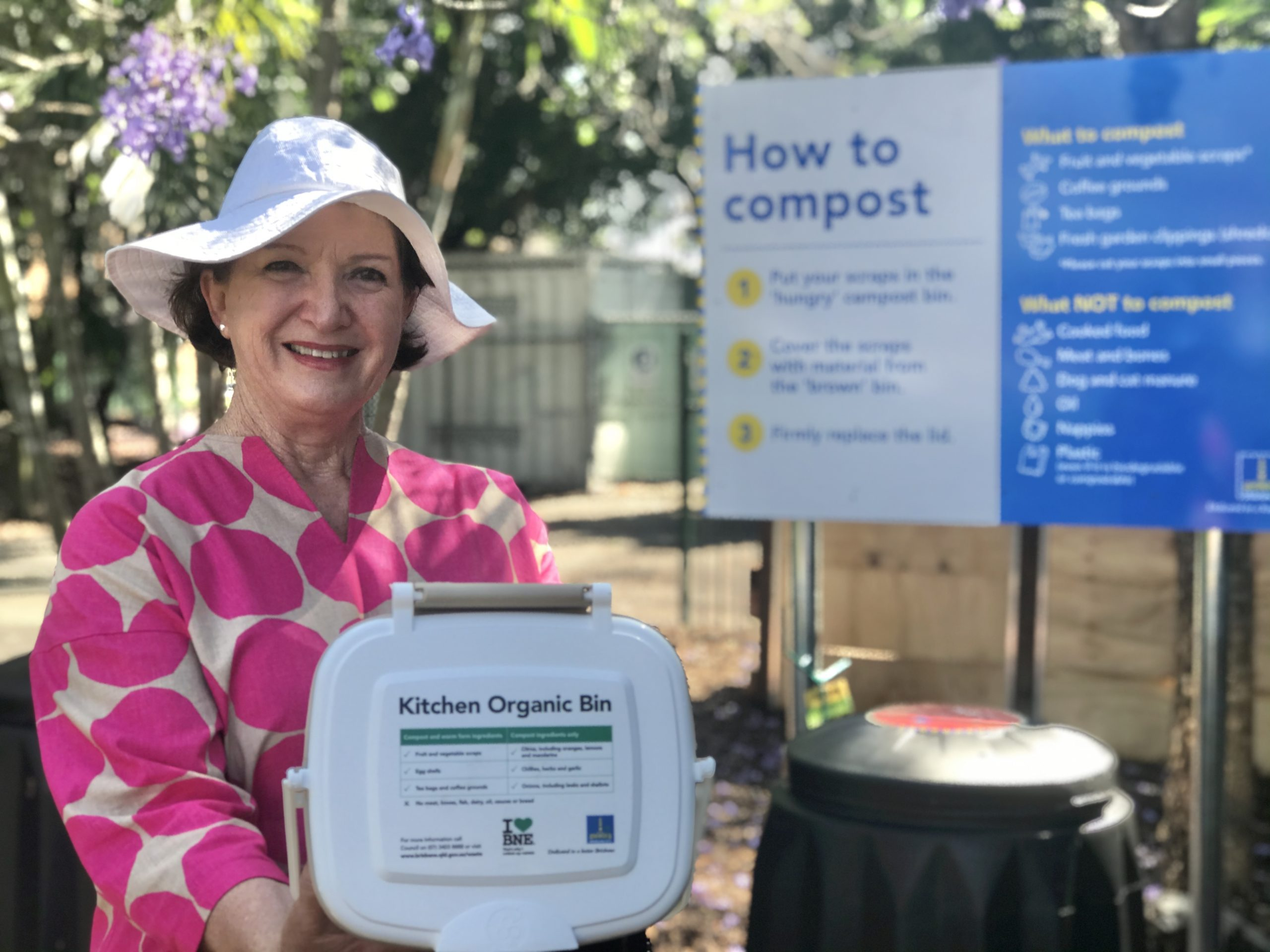 Vicki Howard Composting HUB