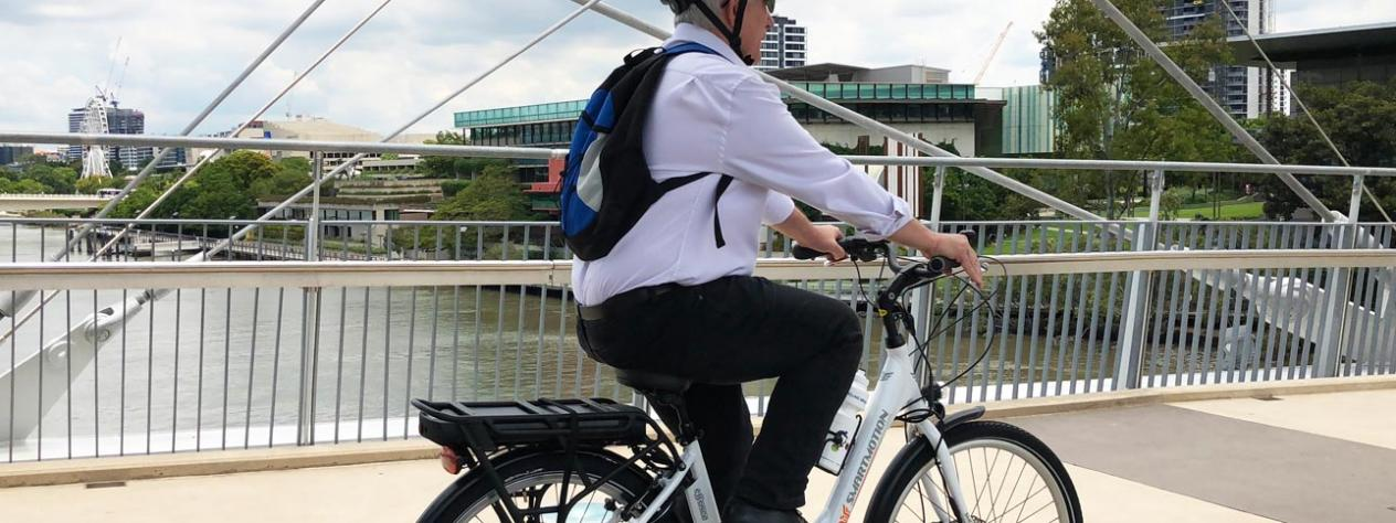 E-bikes to come to Brisbane as part of vision for more modern, connected future