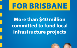 Millions in Federal to boost Brisbane economy