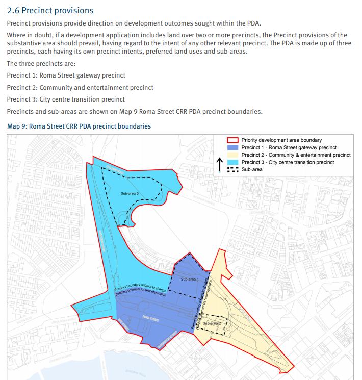 Precinct 3: City centre transition precinct