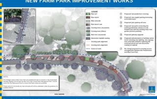 New Farm Park Pedestrian Improvements