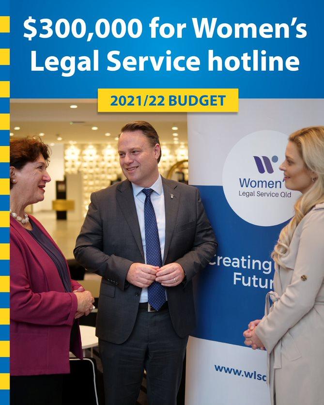 BCC Funds Women's Legal Service