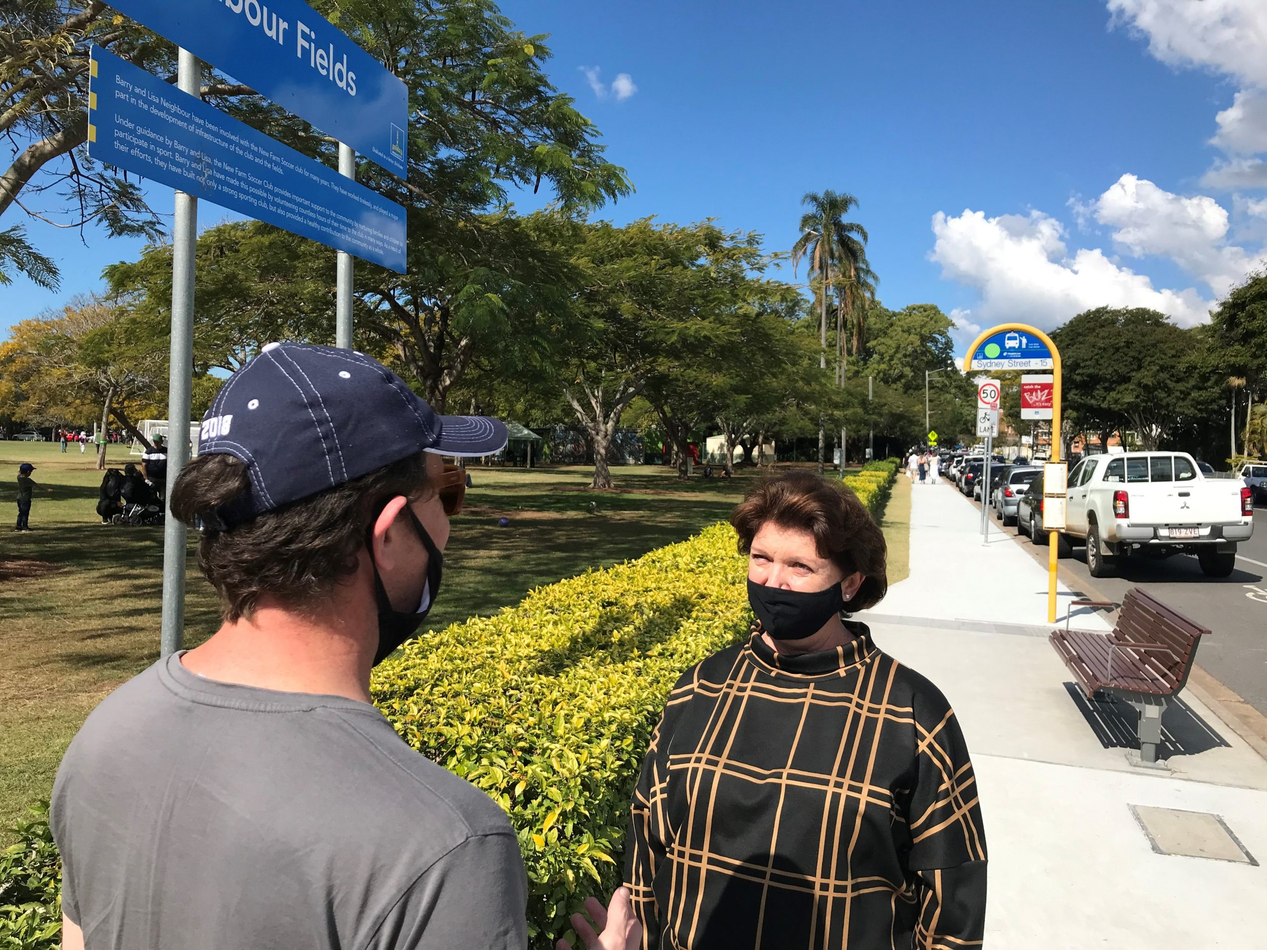 new and improved footpaths across Brisbane