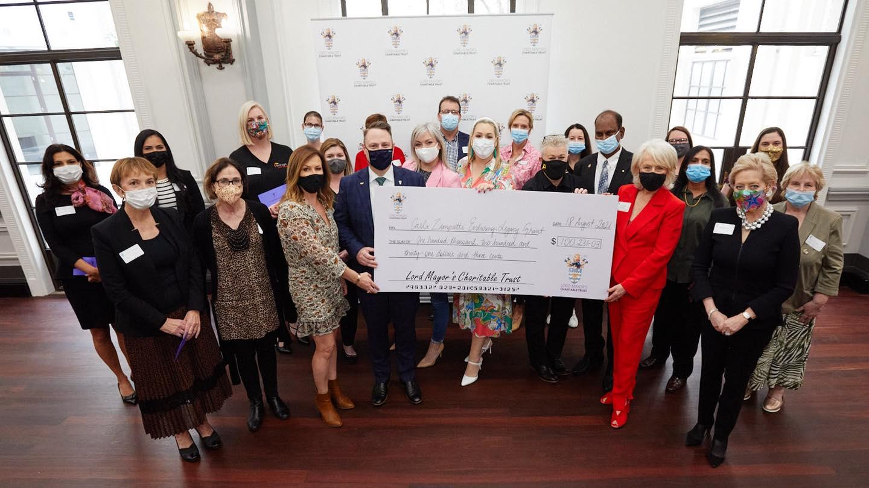 Lord Mayor's Charitable Trust and Carla Zampatti legacy grants