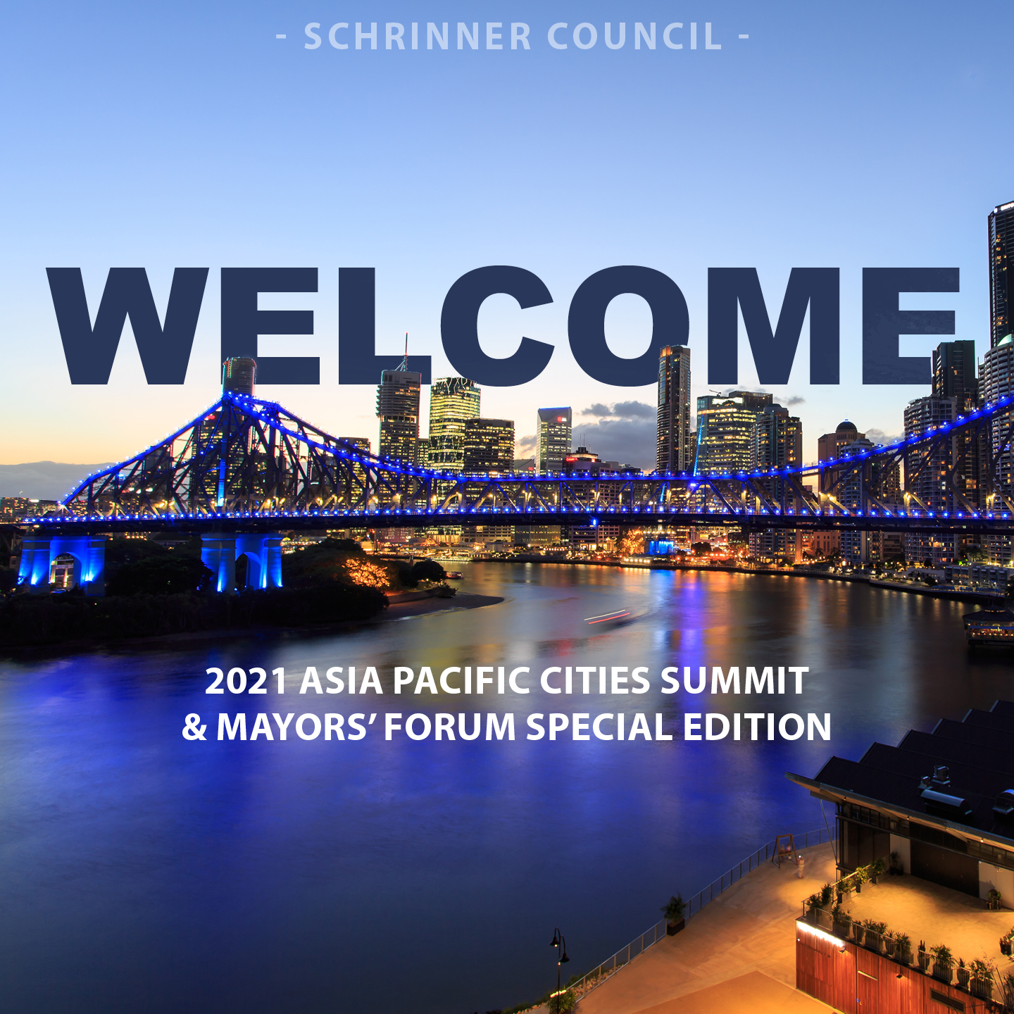 Welcome to the Asia Pacific Cities Summit.