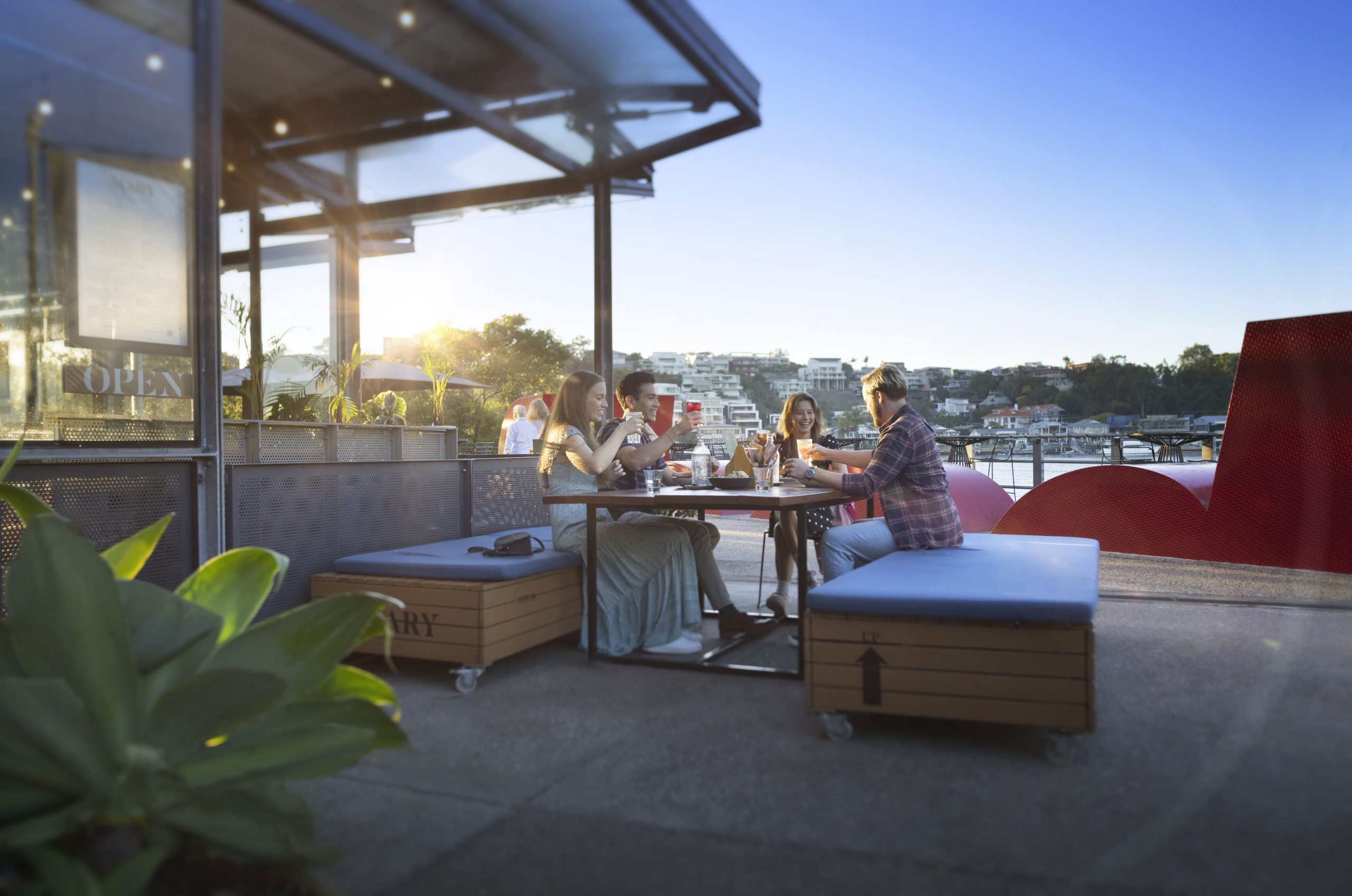 Brunch spots, bar hops, picnic places and hidden spaces… all at the new, free Brisbane App